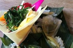 Bali Opfergabe genannt Segehan